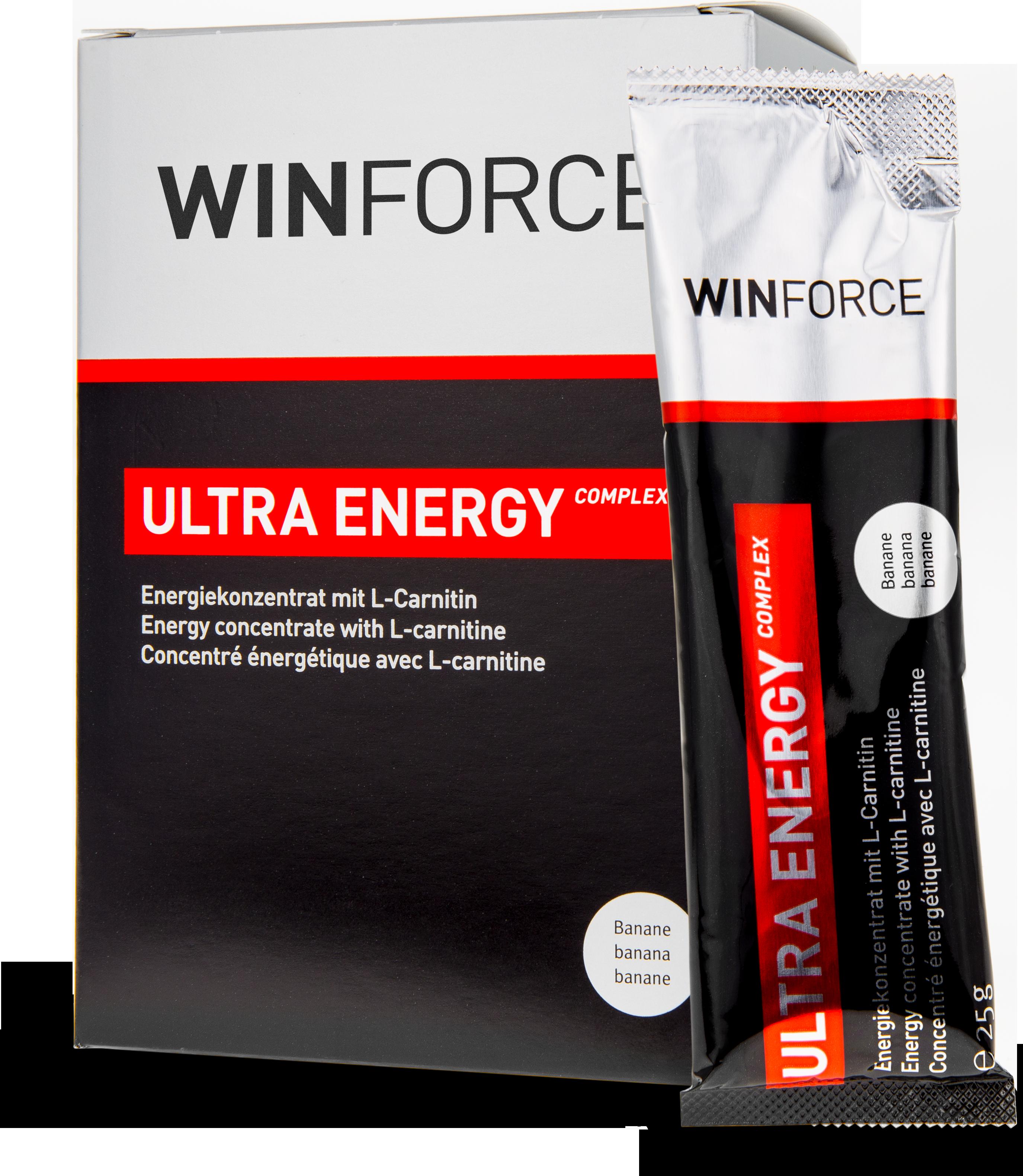 Gel Ultra Energy Complex Lískový oříšek BOX